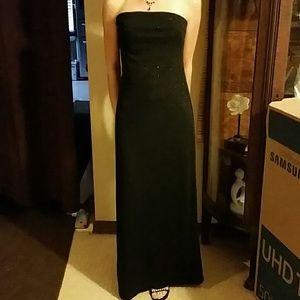 Women's Full Length Cocktail Dress